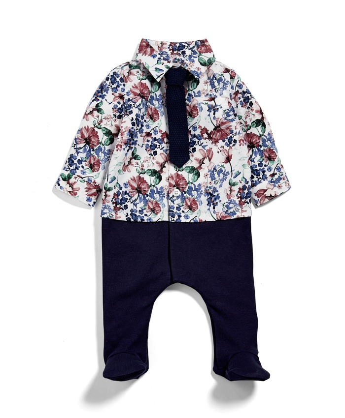 Floral Mock Layer All-in-One
