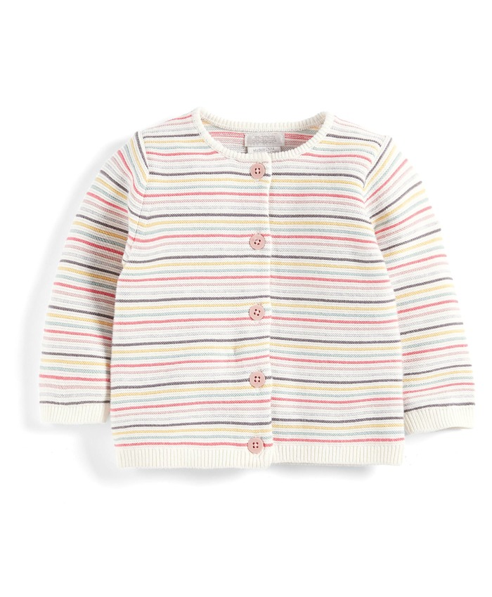 Multi-stripe Cardigan