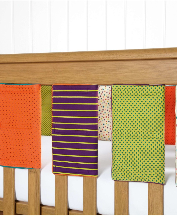 Timbuktales - Unisex Cot Bar Bumpers (pack of 8)