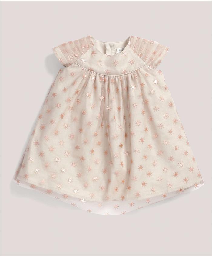 Occasion Foil Star Print Dress