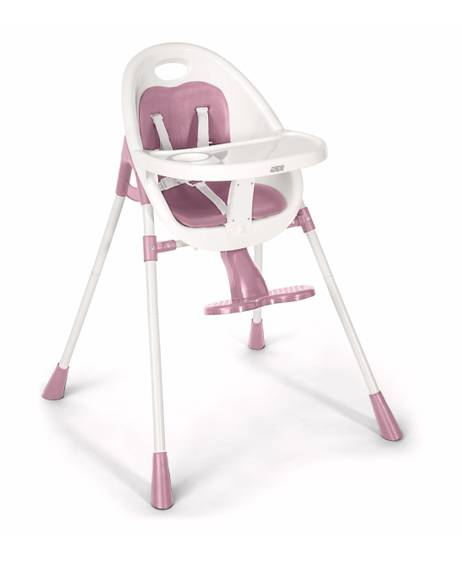 Bop Contemporary Highchair and Junior Seat - Pink