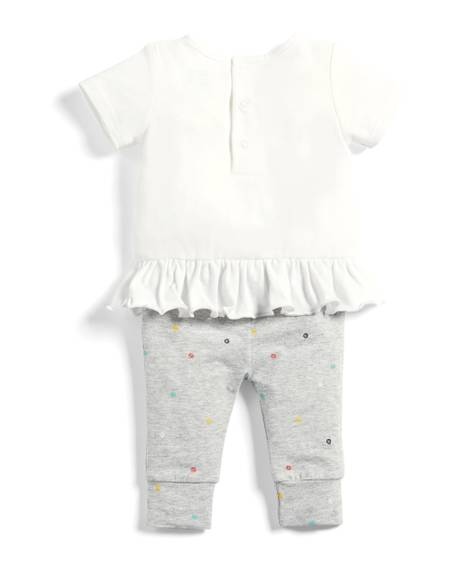 Rainbow T-Shirt & Leggings Set