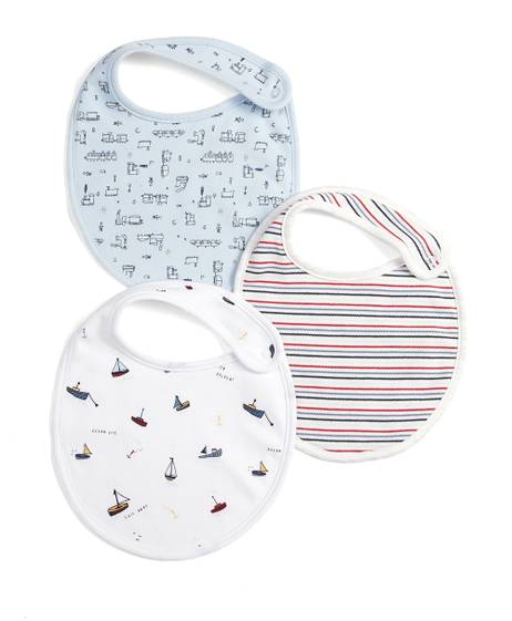 Train Bibs (Pack of 3)