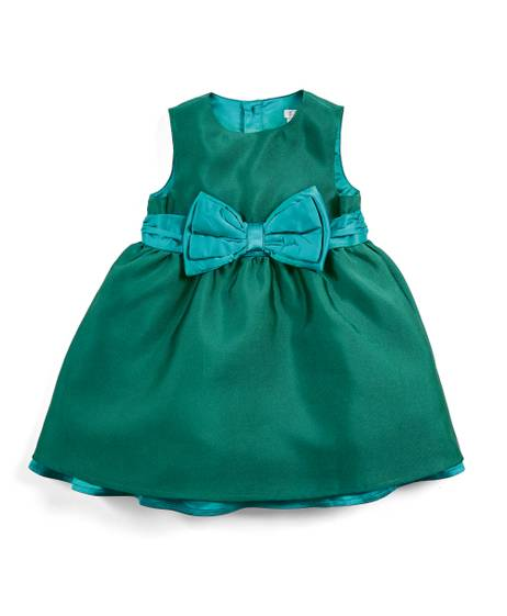Sateen Bow Dress