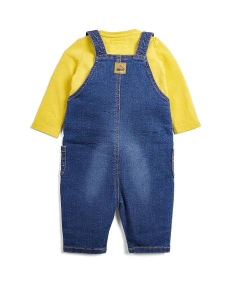 Dungaree & T-Shirt - 2 Piece Set