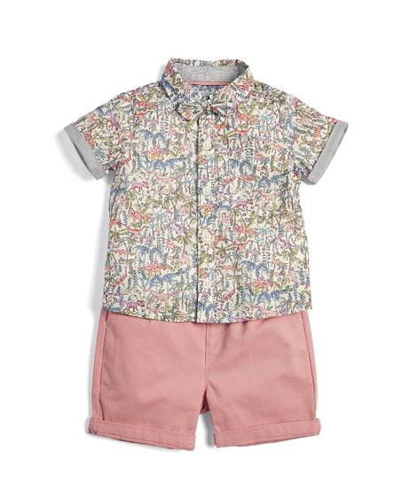 Liberty Shirt, Shorts and Bowtie Set - 3 Piece