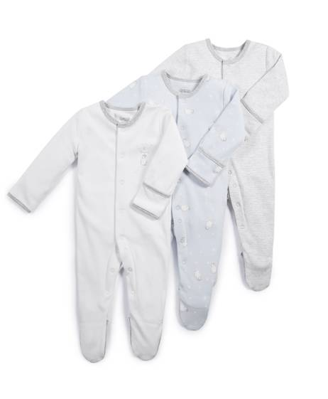Penguin Sleepsuits - 3 Pack