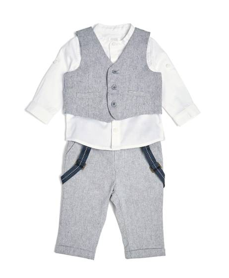 Chambray Suit - 3 Piece Set