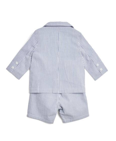 Seersucker Suit - 4 Piece Set