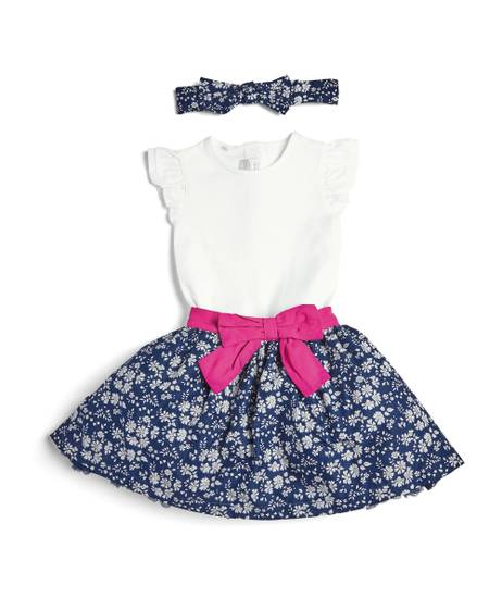 3 Piece Liberty Floral Skirt Set