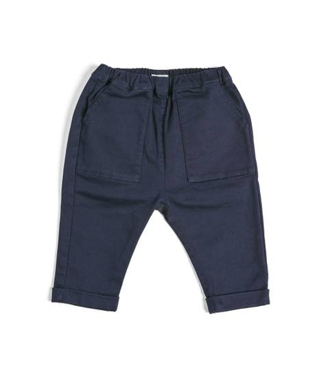 Navy Relaxed Chino