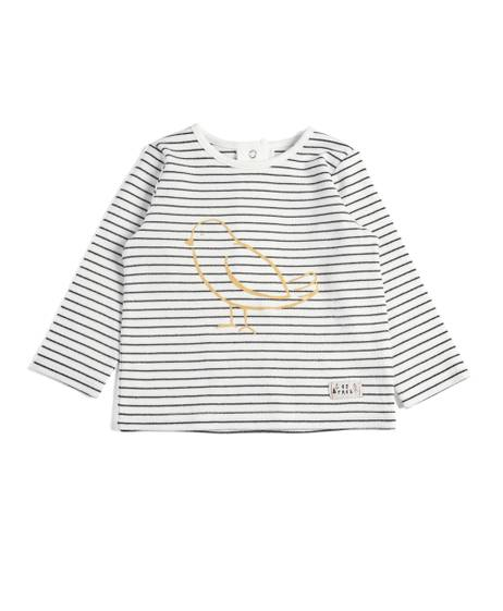 Striped Bird Tshirt