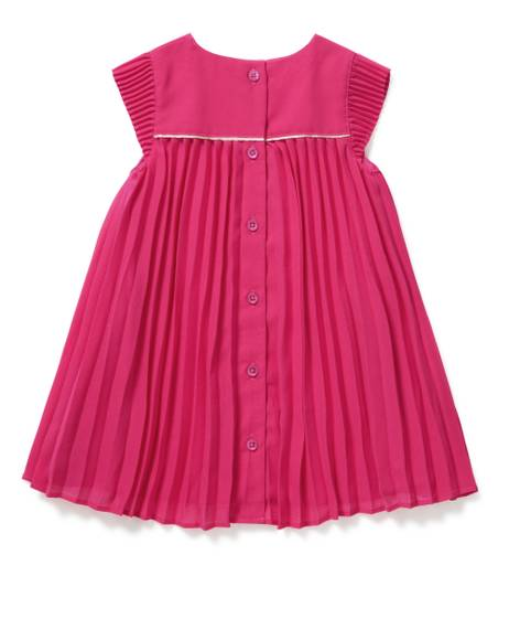 PLEAT DRESS