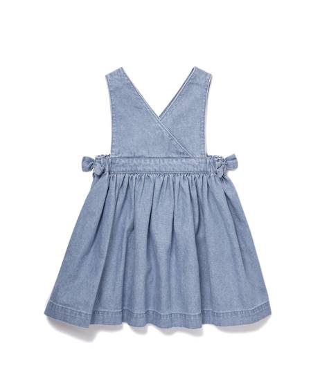 Chambray Denim Pinny Dress