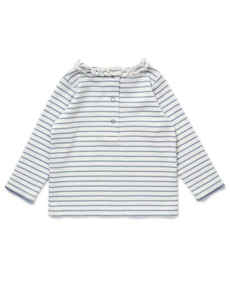 Striped Frill T-Shirt