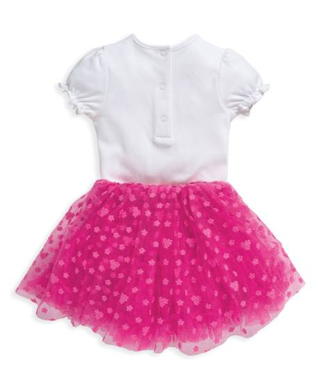 2 Piece Embroidered Sleepsuit & Tutu