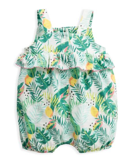 Tropical Shortie Romper