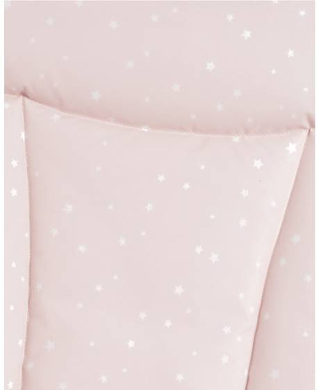 Essentials Changing Mattress - Pink Twinkle