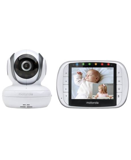 "Motorola MBP36S Digital Video Baby Monitor with 3.5"" LCD"