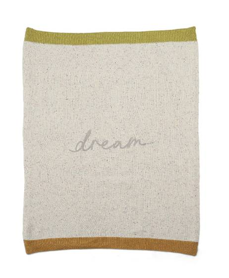 Knited Blanet Small - Dream Slogan