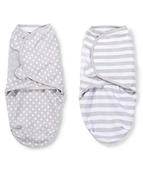 Swaddle Wraps  (pack of 2) - Grey