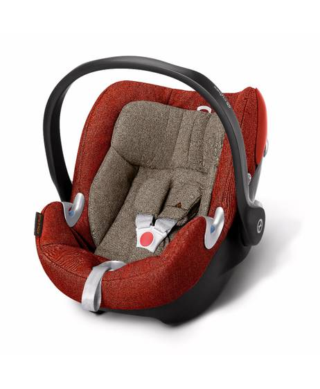 Cybex Aton Q Plus Car Seat - Autumn Gold