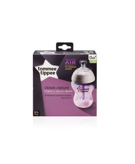Tommee Tippee Closer To Nature 2x 260ml