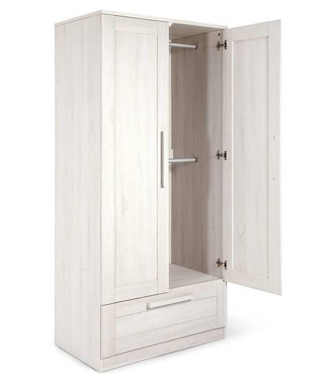 Atlas Wardrobe - Nimbus White