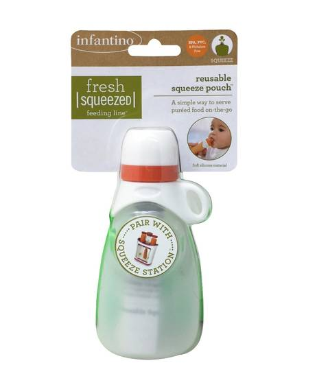 Infantino - Reusable Squeeze Pouch