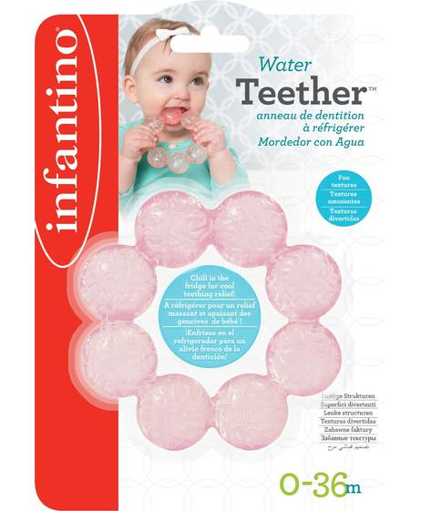 Infantino- Water Teether- Grape Fruit
