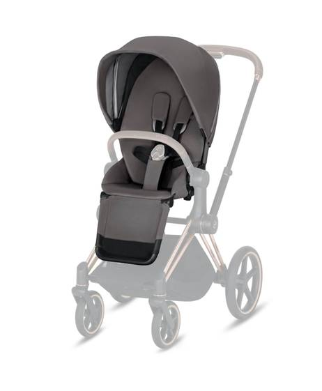 PRIAM Seat Pack Manhattan Grey