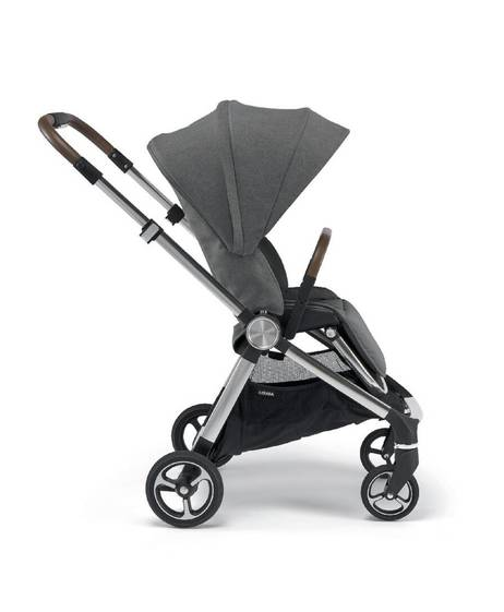 Strada Pushchair with Carrycot and Changing Bag - Grey Mist