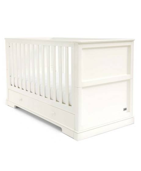 Oxford Cot/Toddler Bed - White