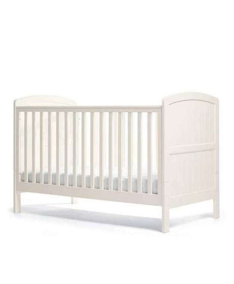 Dover Adjustable Cot to Toddler Bed - White