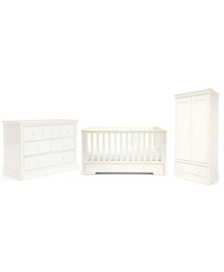 Oxford White - Three Piece Furniture Set