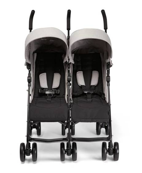 Cruise Twin Folding Buggy - Grey Marl