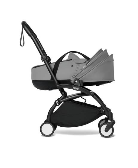 BABYZEN YOYO Bassinet Grey + Black Frame