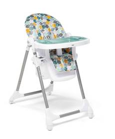Snax Adjustable Highchair with Removable Tray Insert - Multi Spot